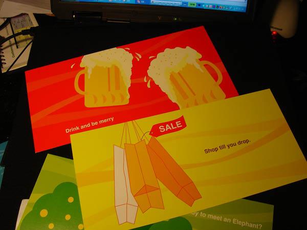 盡情的喝啤酒和購物吧!