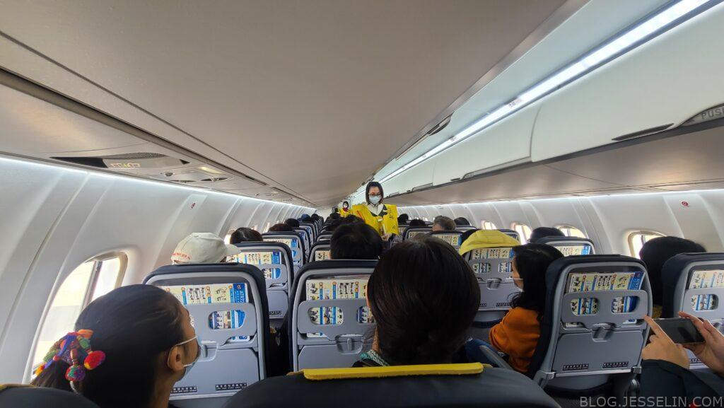 華信環台飛行 Day 6 飛行 台中飛金門