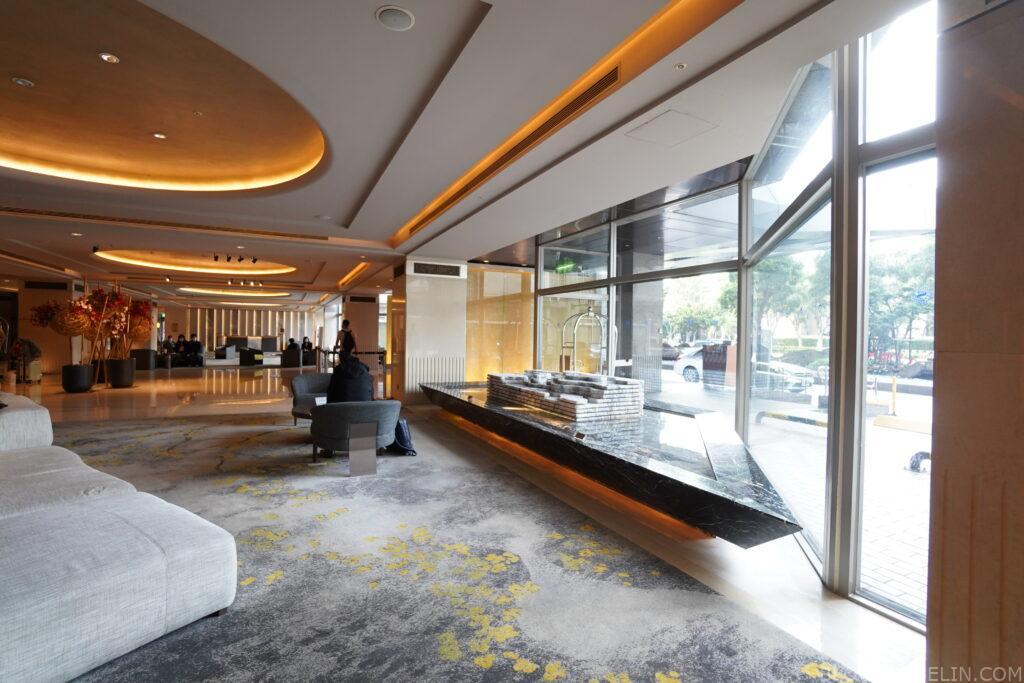 台北喜來登 古早的來來飯店 政經核心距離北車最近的萬豪飯店